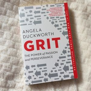 GRIT The Power of Passion and Perseverance Book